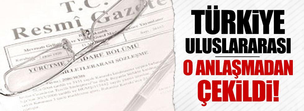Türkiye kahve anlaşmasından çekildi