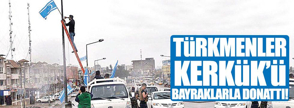 Türkmenlerden Peşmerge başına cevap gecikmedi!