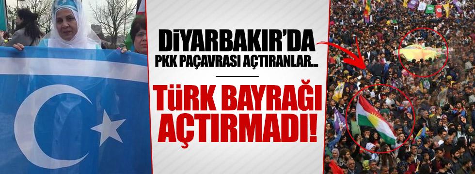 İstanbul'daki nevruz kutlamasında bayrak krizi