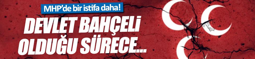 """MHP'li Ali Gücük istifa etti: """"Bahçeli partide olduğu sürece..."""""""