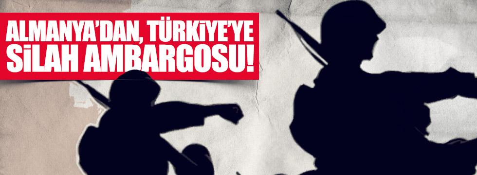Almanya'dan, Türkiye'ye silah ambargosu