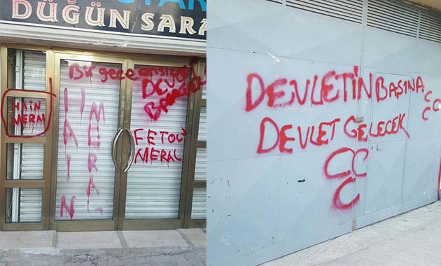 Akşener'in konuşma yapacağı salona saldırı girişimi