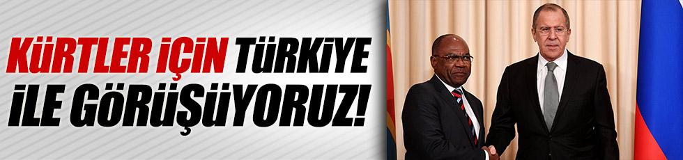 Lavrov: Kürtler için Türkiye ile görüşüyoruz