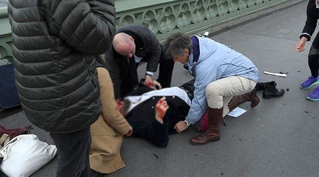İngiliz parlamentosu önünde silahlı saldırı