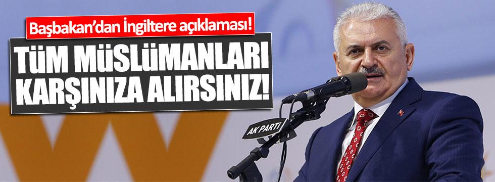 Başbakan Yıldırım'dan terör açıklaması