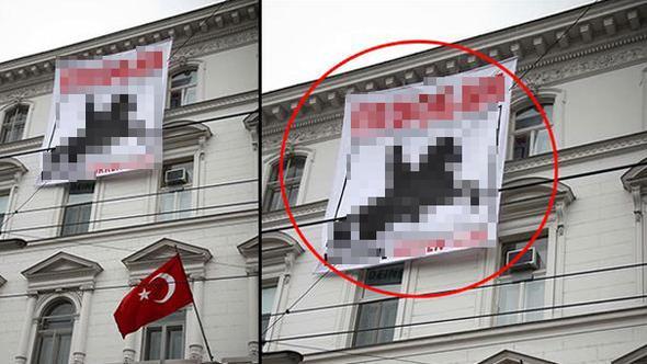 Viyana'da Büyükelçiliğimize alçak saldırı!