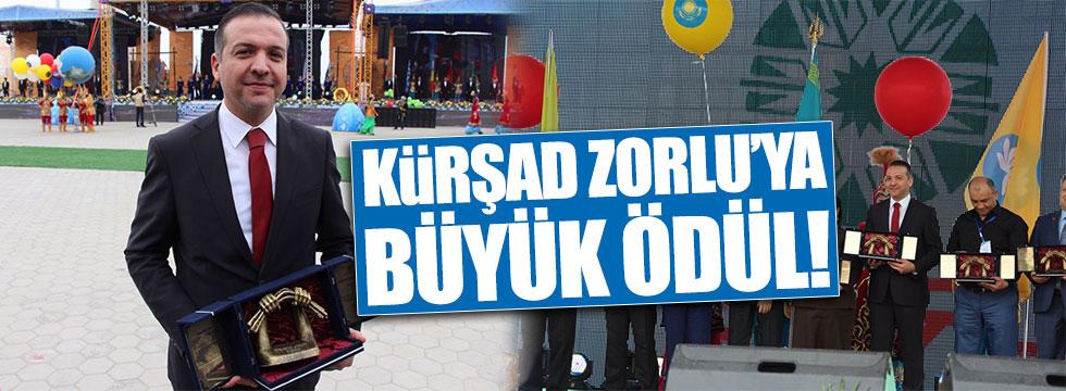 Kürşad Zorlu'ya uluslararası Türksoy Basın ödülü