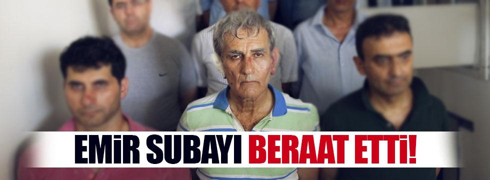 Akın Öztürk'ün emir subayı beraat etti