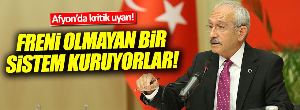 Kılıçdaroğlu: 'Evet' çıkarsa bunun hesabını çocuklarınıza veremezsiniz