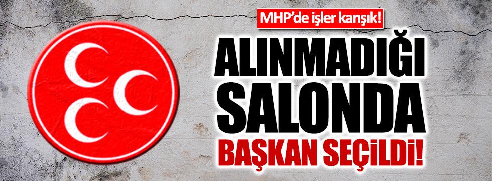 MHP'li Berna Karakoyun, alınmadığı salonda başkan seçildi