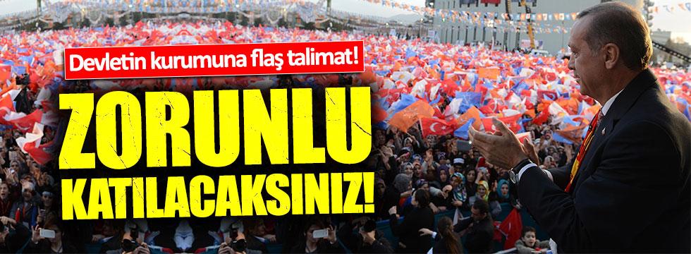 """TRT'ye flaş talimat: """"Evet mitinglerine katılmak zorunlu"""""""