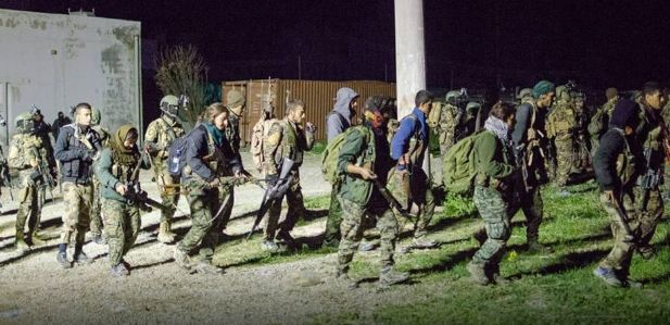 YPG ve ABD Rakka'ya böyle indi!