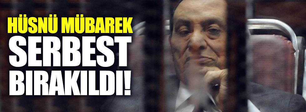 Hüsnü Mübarek serbest bırakıldı