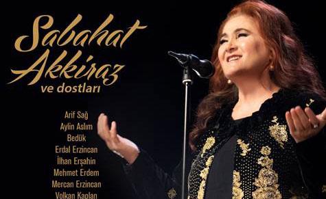 Sabahat Akkiraz'dan 47'nci yıl konseri