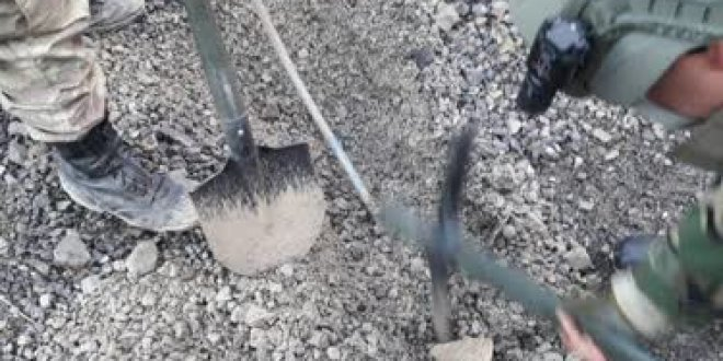 Hakkari'de 300 kilogram patlayıcı imha edildi