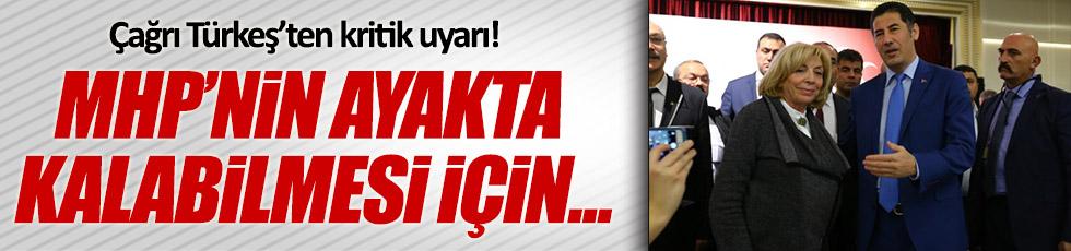 Çağrı Türkeş: MHP'nin ayakta kalabilmesi için 'hayır' diyoruz