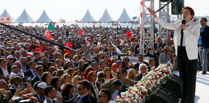 Akşener'den İzmir'de dev miting