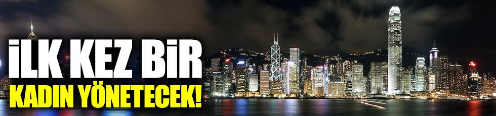 Hong Kong'un ilk kadın lideri olacak