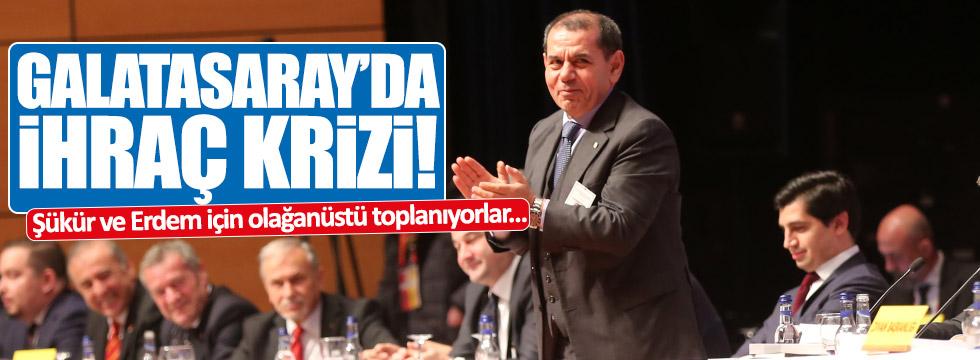 Galatasaray'dan olağanüstü toplanma kararı aldı