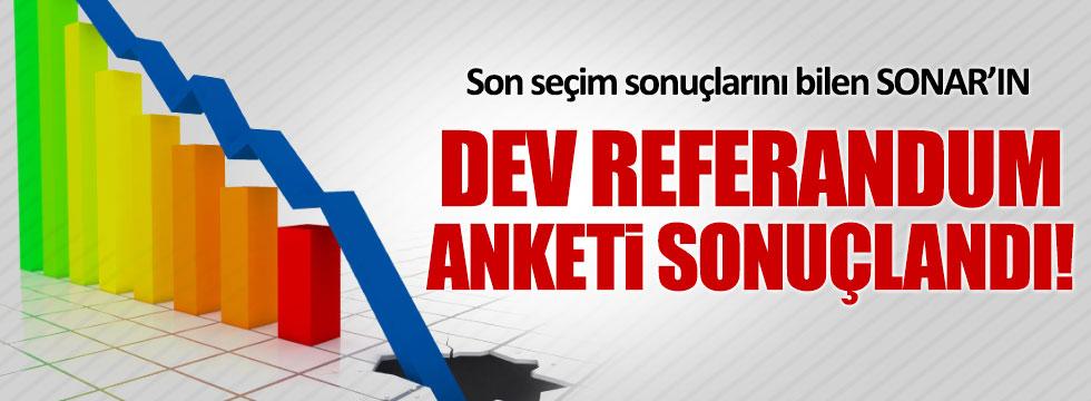 Son seçimleri bilen SONAR, dev anketin sonuçlarını açıkladı