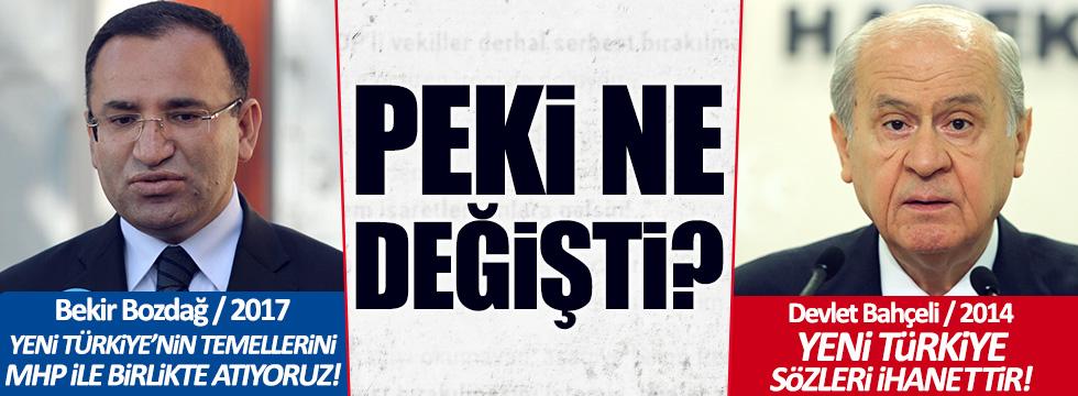 """Bozdağ: """"Yeni Türkiye'yi MHP ile kuruyoruz"""""""