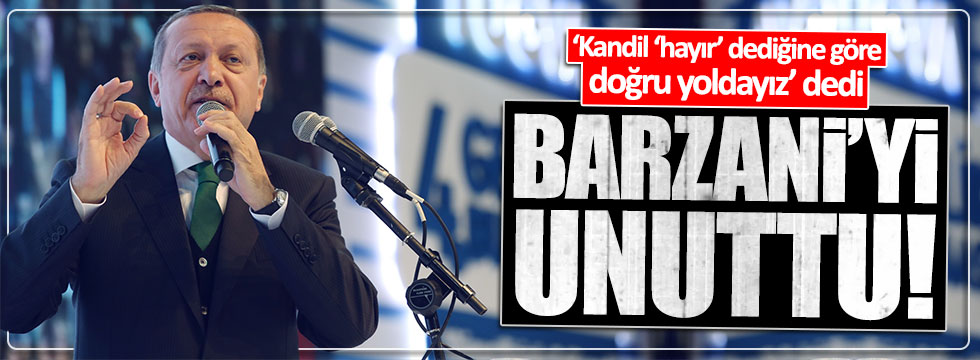 Erdoğan TÜGVA'da konuştu
