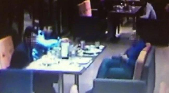 AVM'deki güvenlik kamerası komiseri ele verdi