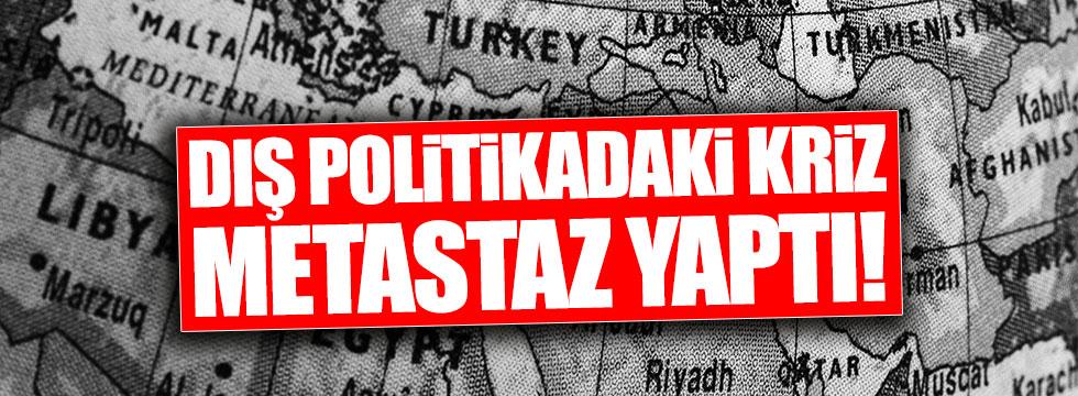 Türkiye'nin dört yanı diplomatik sorunlu