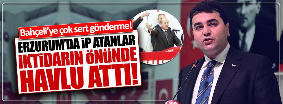 DP lideri Uysal: Erzurum'da ip atanlar, iktidarın önünde havlu attı