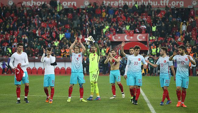 Türkiye 3-1 Moldova / Maç özeti