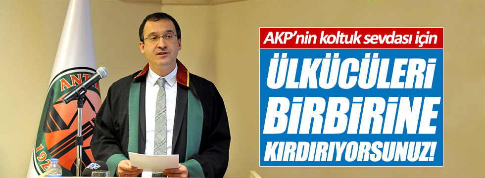 MHP eski yöneticileri hayır diyor