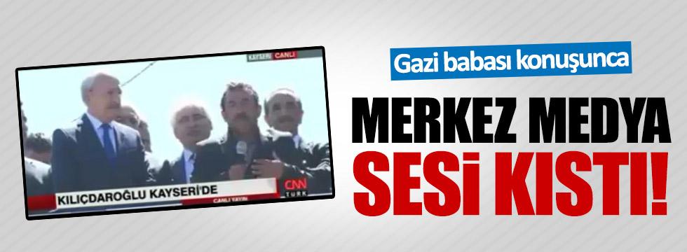 Gazi babası konuştu: NTV, CNN ve Habertürk sesi kıstı!