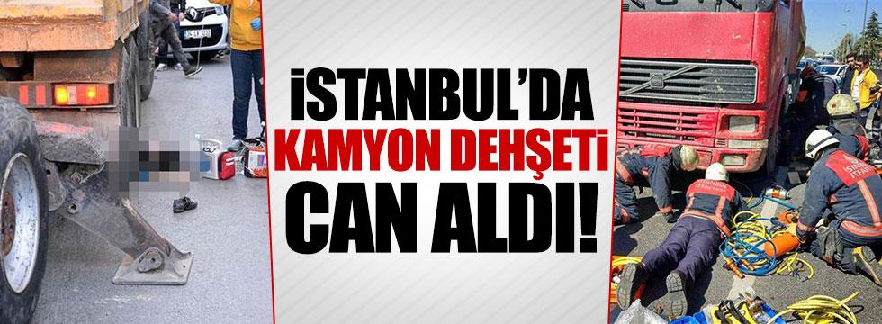 İstanbul'da aynı gün ikinci kamyon dehşedi