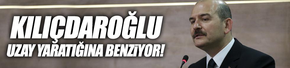 """Soylu: """"Kılıçdaroğlu uzay yaratığına benziyor"""