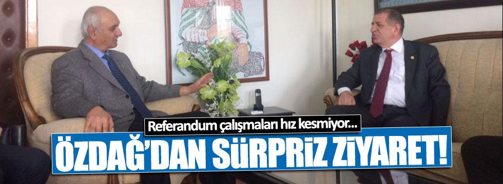 Ümit Özdağ'dan Hacı Bektaş-i Veli Türbesi'ne ziyaret