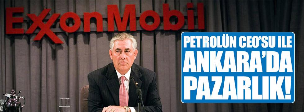 Petrolün CEO'su ile Ankara'da pazarlık!