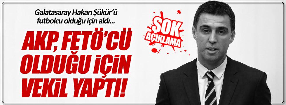 CHP'li Muharrem İnce'den Hakan Şükür açıklaması