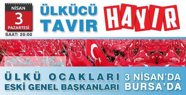 Ülkü Ocakları eski Genel Başkanları Bursa'da