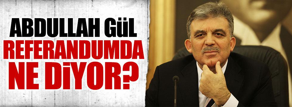 Ümit Özdağ: Gidin sorun, Abdullah Gül referandumda ne diyor?