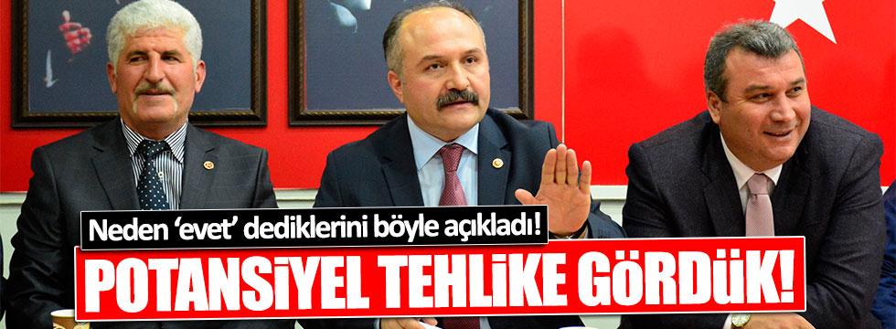 MHP'li Usta, neden 'evet' dediklerini açıkladı