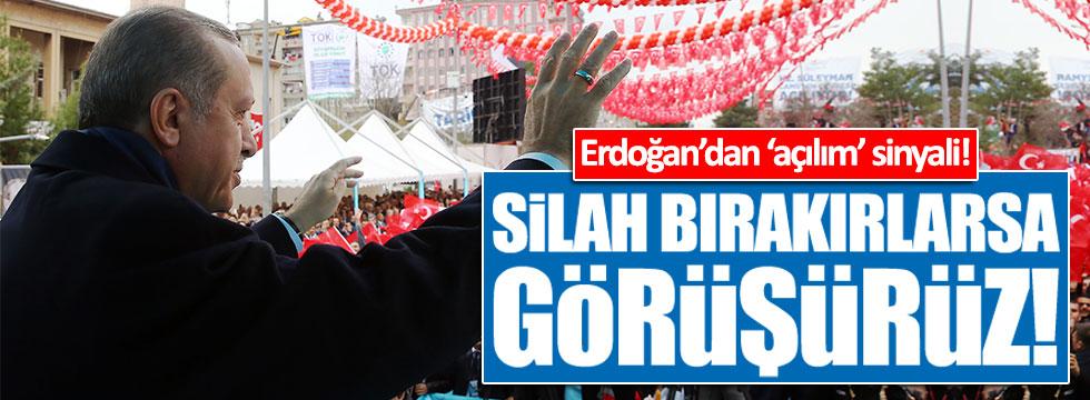 Erdoğan'dan yeni 'açılım' sinyali