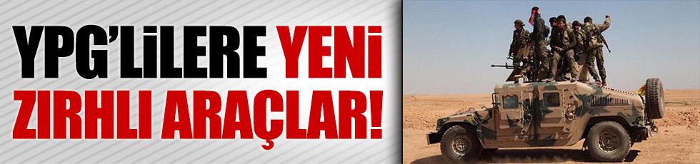 YPG'ye yeni zırhlı araçlar!