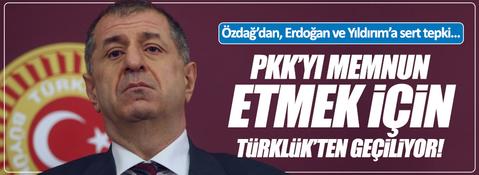 Özdağ'dan, Yıldırım ve Erdoğan'a çok sert cevap