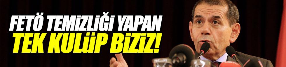 """Özbek: """"FETÖ temizliği yapan tek kulüp biziz"""""""