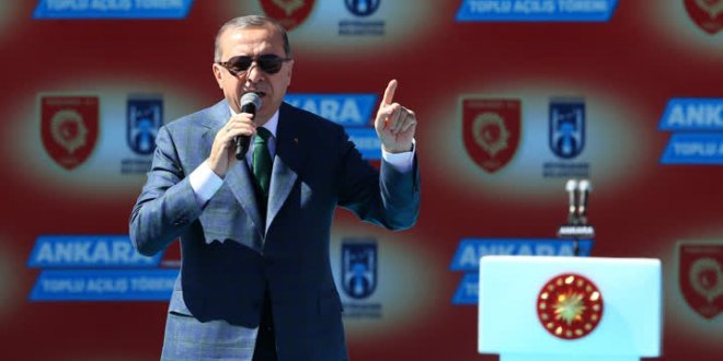 Erdoğan yine Feyzioğlu'na yüklendi