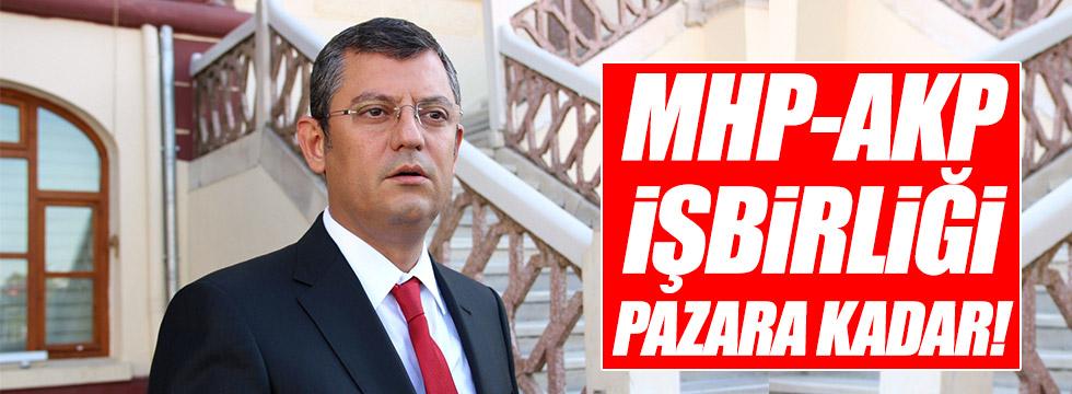 Özel: MHP-AKP arasındaki işbirliği pazara kadar!