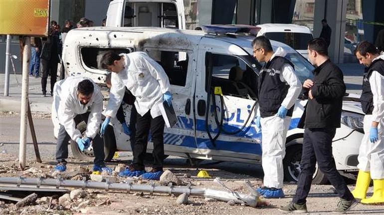 Mersin'de alçak saldırı!