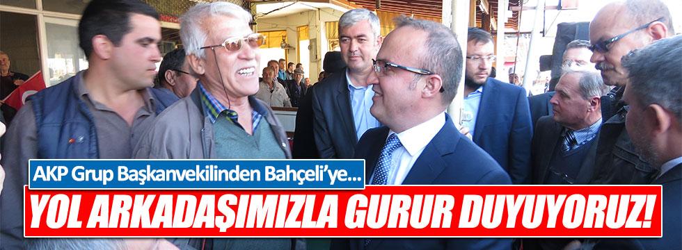 AKP Grup Başkanvekili: Yol arkadaşımız Bahçeli ile gurur duyuyoruz