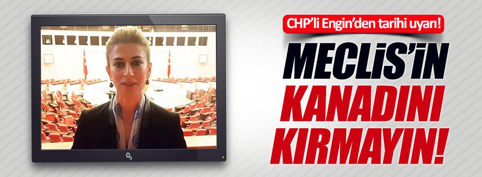 CHP'li Didem Engin'in videosu sosyal medyayı salladı