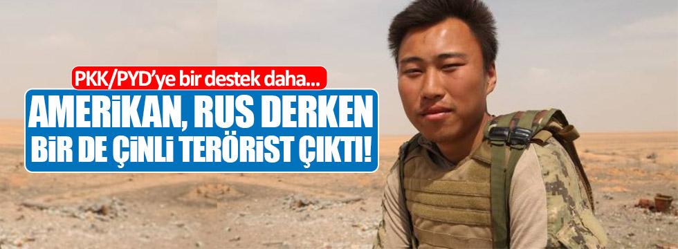 Terör örgütü YPG saflarında Çinli terörist!